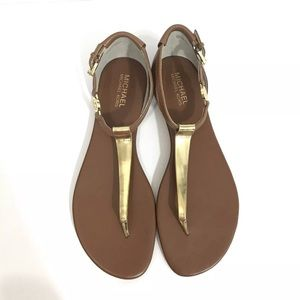 MICHAEL Michael Kors Ankle Strap Thong Sandal